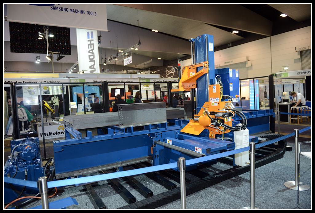 The worlds most successful CNC Beam Drill Line, the Ocean Avenger. More than 500 of these machines are installed in over 60 countries