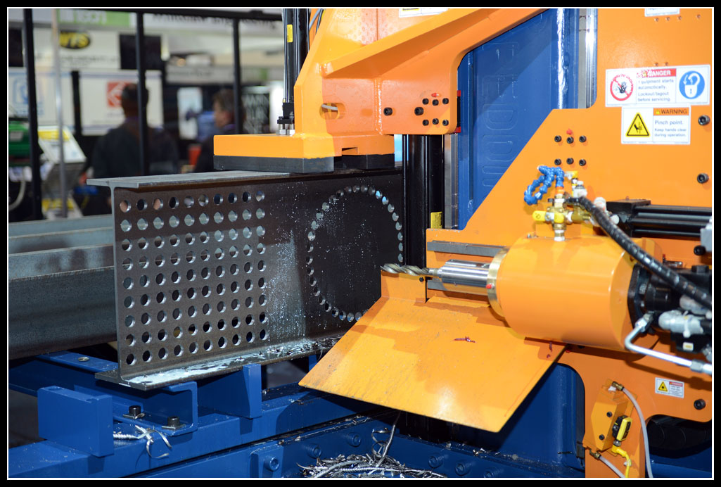 The Ocean Avenger proving again why it is the worlds best selling CNC Beam Drill Line of all time