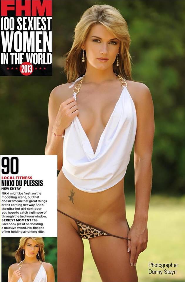 Nikki Du Plessis - FHM 100 Sexiest Women in the World