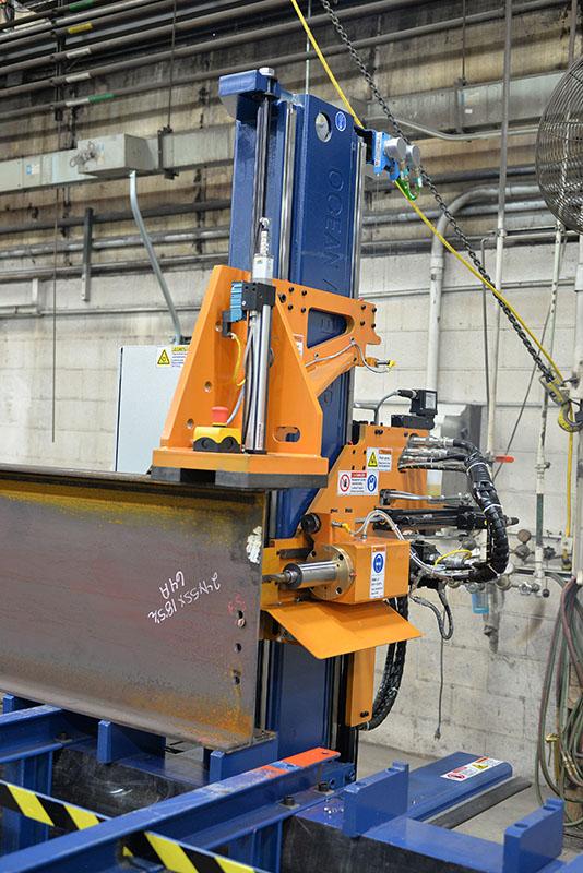 Avenger CNC Beam Drill Line