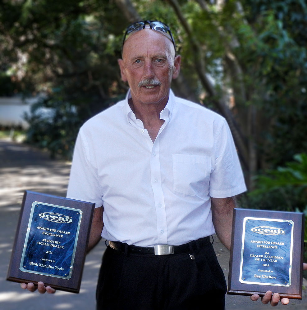 Top Ocean Machinery Salesman Ray Chellew