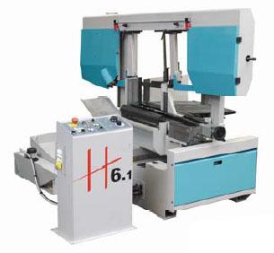 KMT H6-SA Semi-Automatic Band Saws