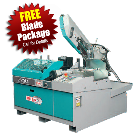 KMT H400A & H400A-NC Fully-Automatic Band Saws