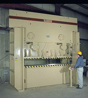 Standard Straight Side Hydraulic Press