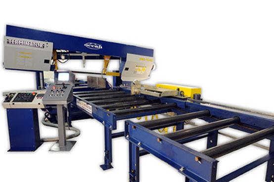 eliminator modular material handling system for structural steel