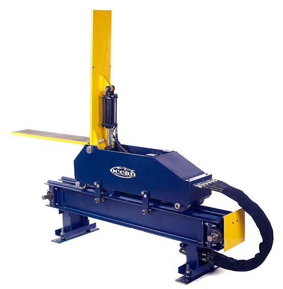 ocean flipper beam rotator and column positioner