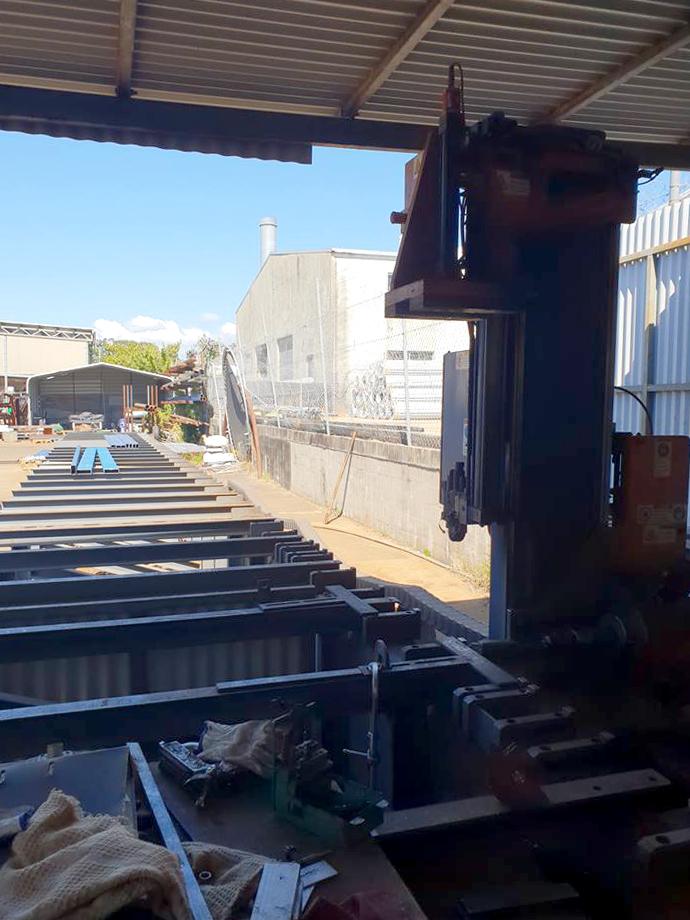 Ocean Avenger at On the Spot Welding & Steel, Brisbane Australia