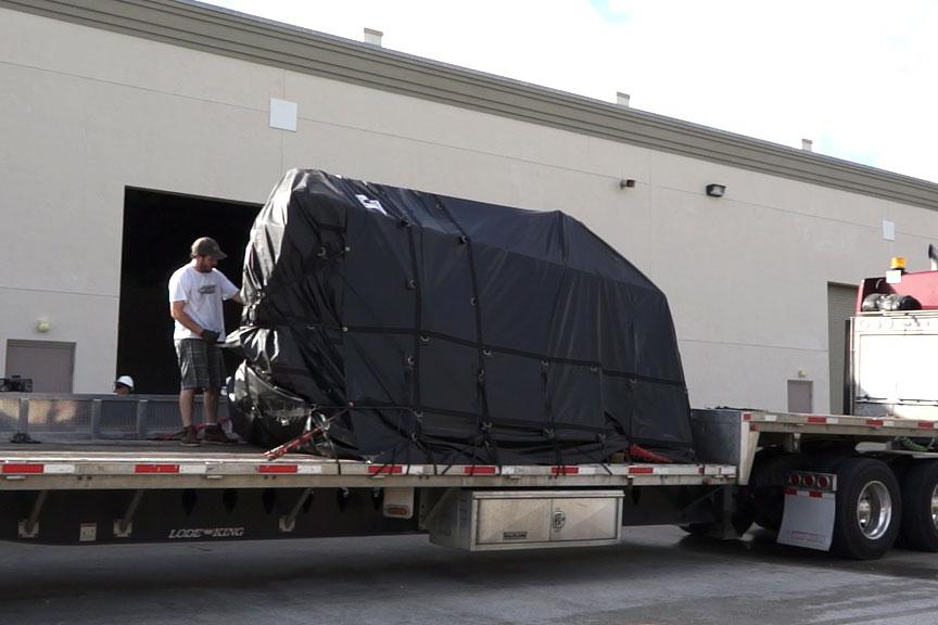 Ocean Terminator delivery