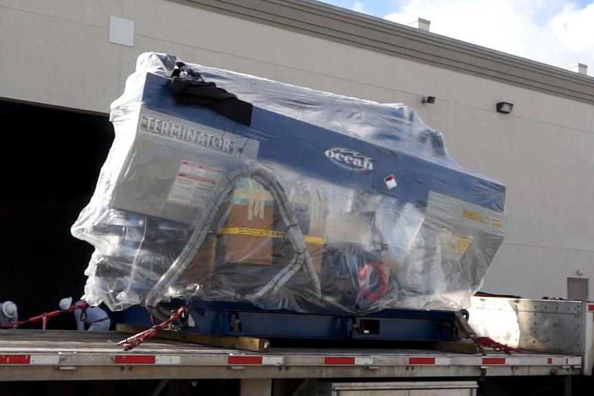 Ocean Terminator shipment