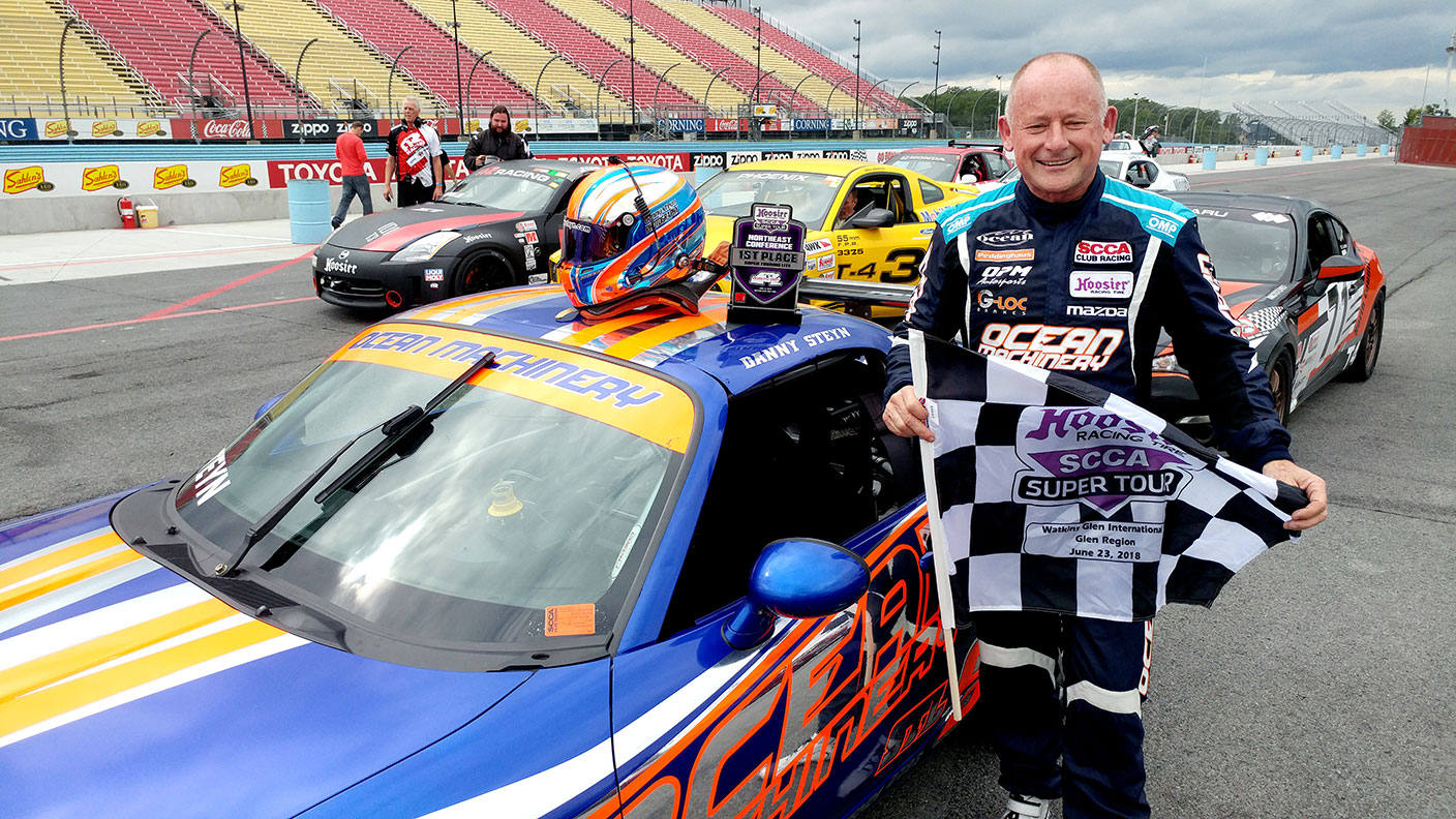 Back-to-Back weekend wins for the Ocean Machinery STL Mazda