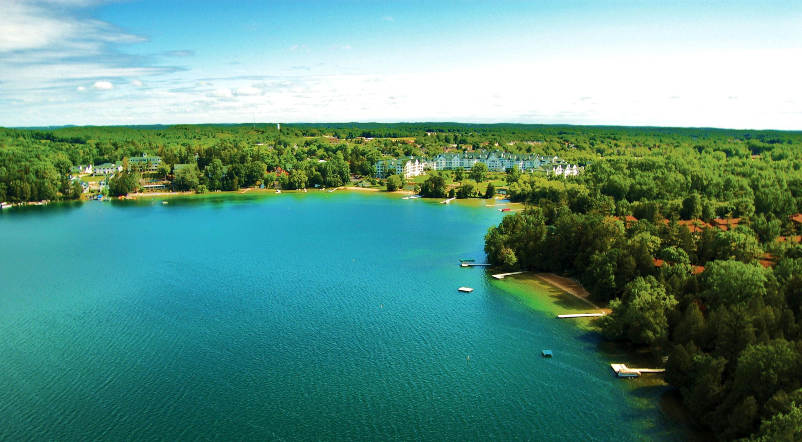 Beautiful Elkhart Lake, Wisconsin