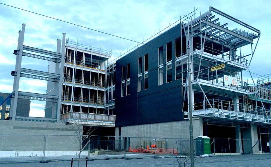 The rebuilding of Christchurch, NZ