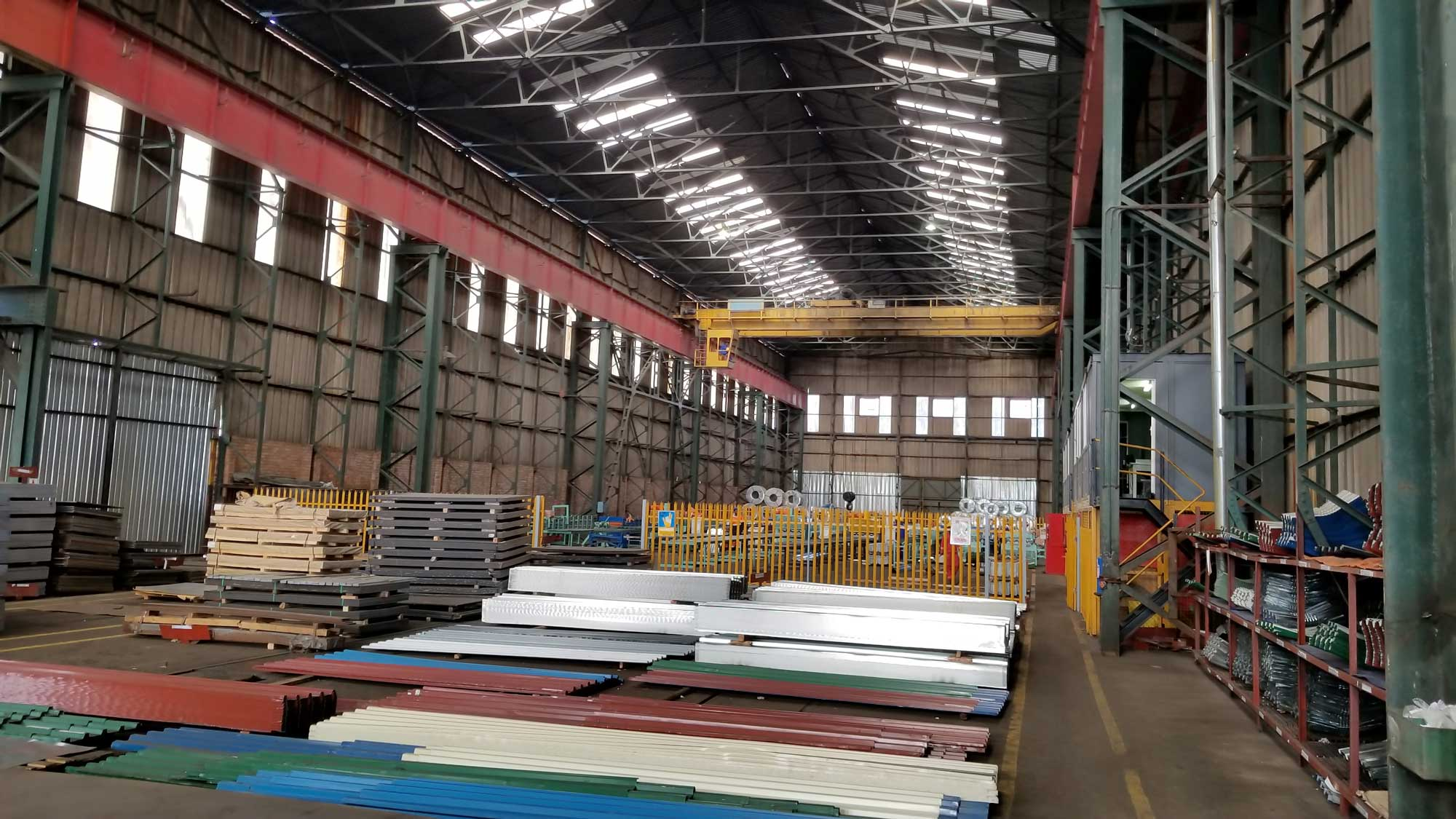 Pump and Steel Supplies - Roofing Material Division