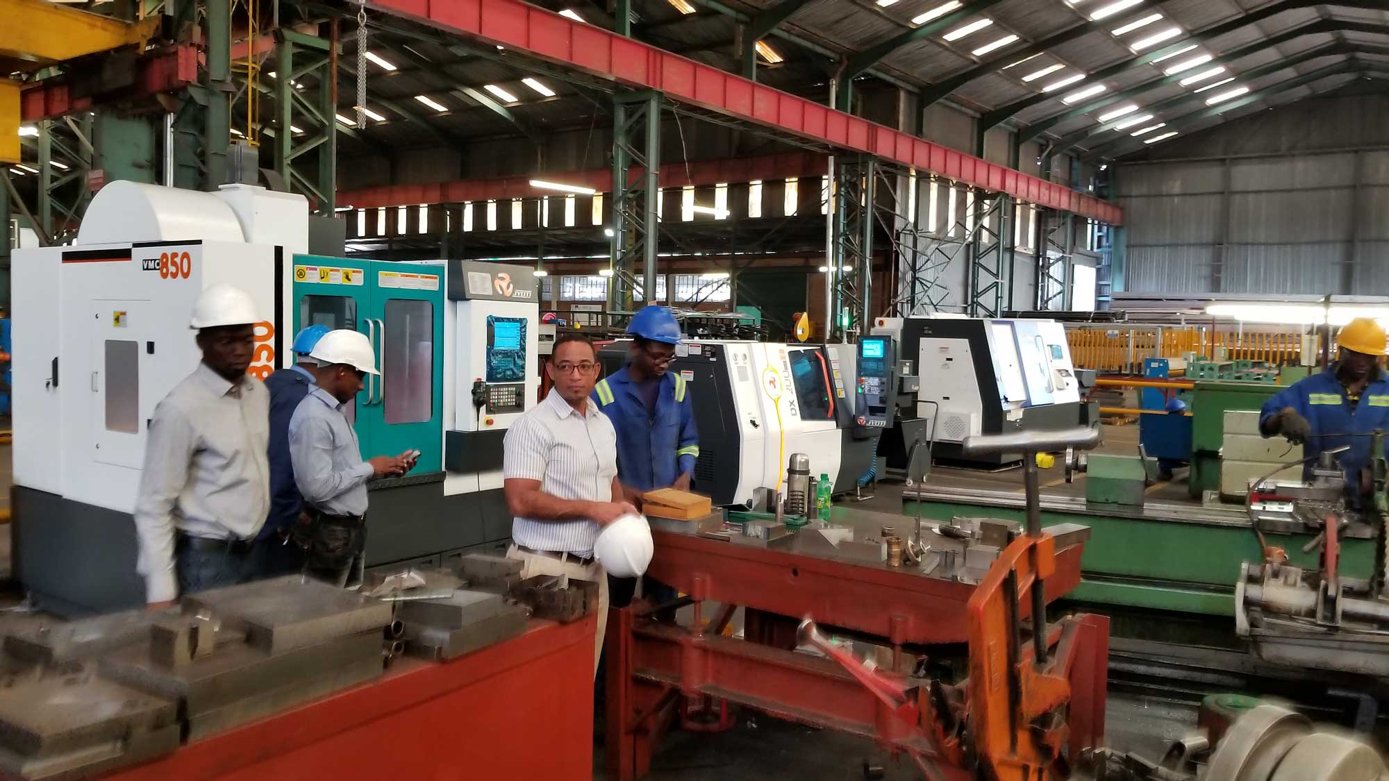 Pump and Steel Supplies - CNC Machining Centers
