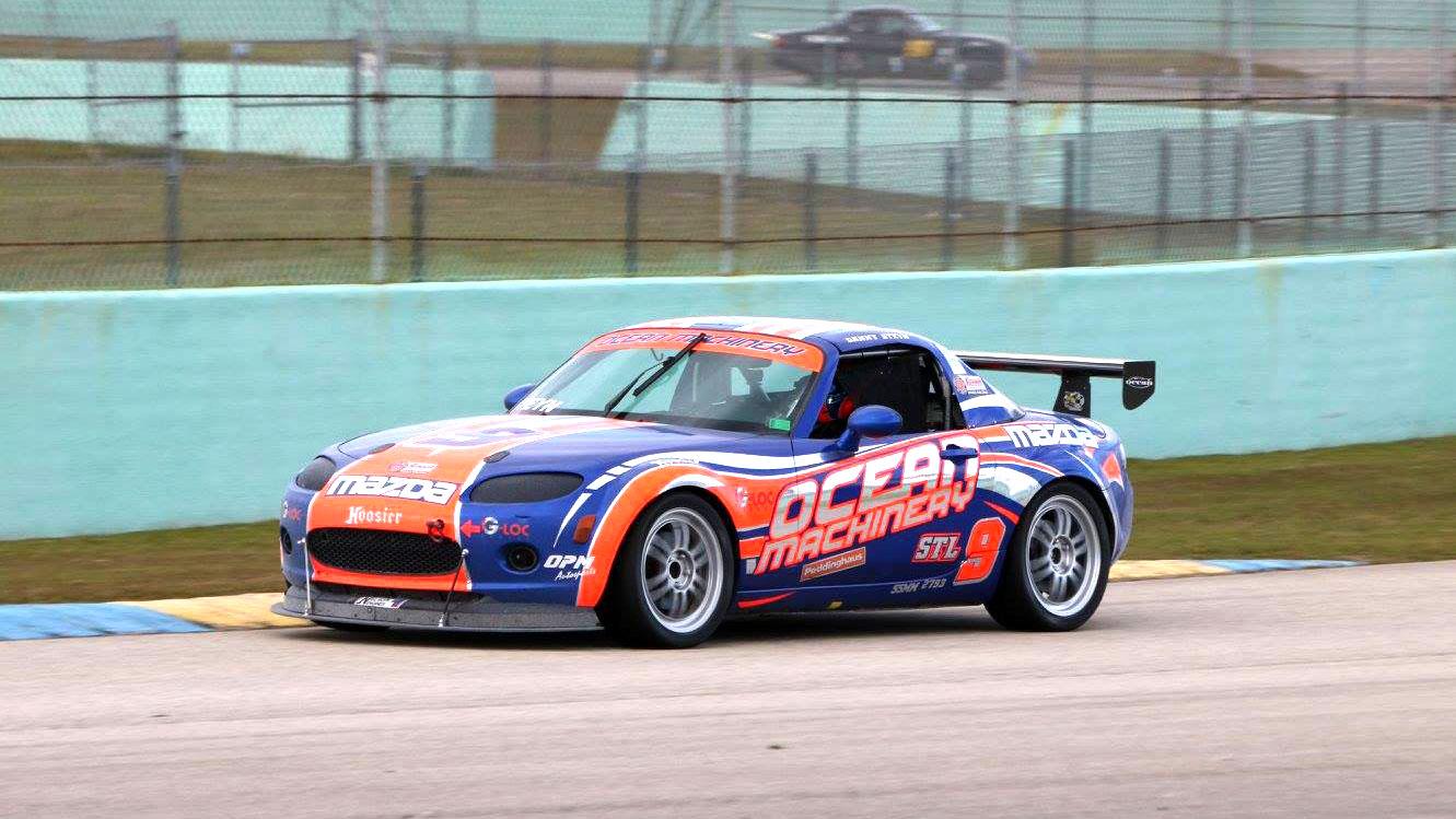 Ocean VP - Danny Steyn's STL class Mazda MX-5