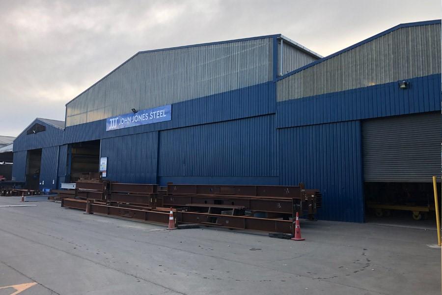 John Jones fabricating facility in Timaru New Zealand