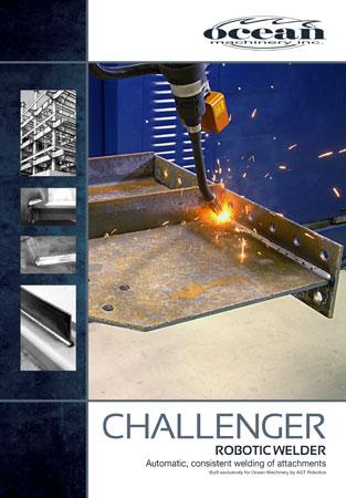 using robotic welder structural steel