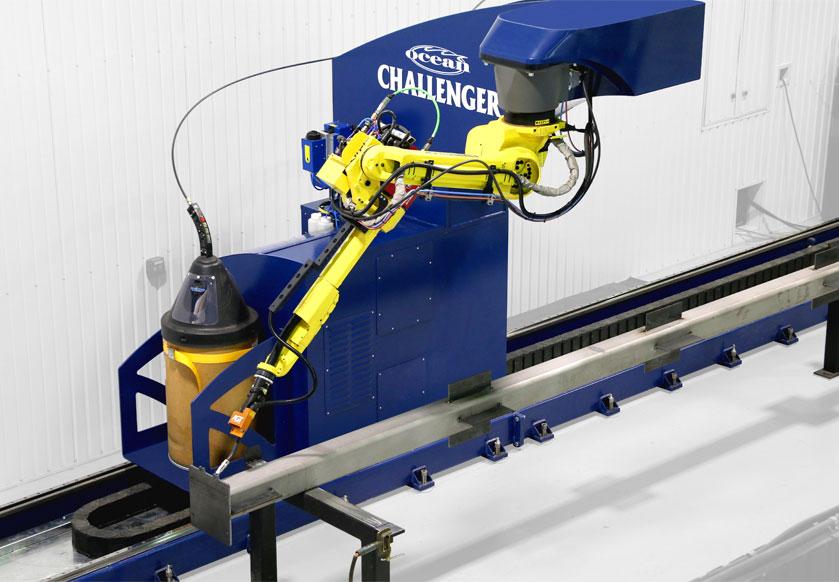 Ocean Challenger Robotic Welder for Structural Steel