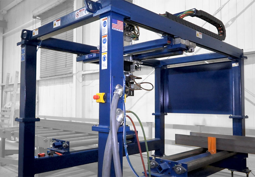 Ocean Liberator cnc beam coping machine