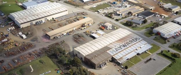 hayward steel facility in western junction - ocean avenger drill line